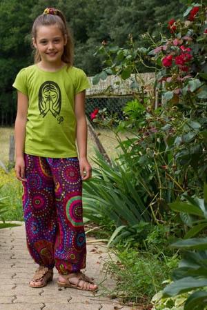 Pantalon filles 8 ans