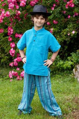 Pantalons coton