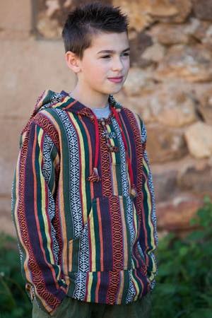 Poncho ethnique