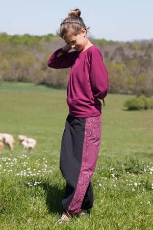Sarouels coton épais